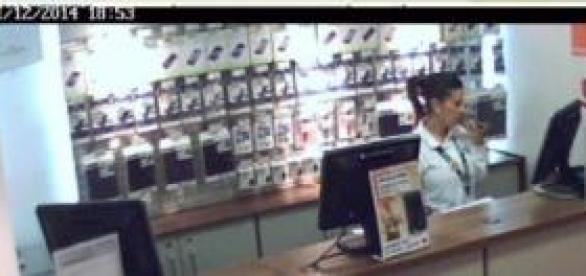 Image issue d'une caméra de surveillance.INSECAM