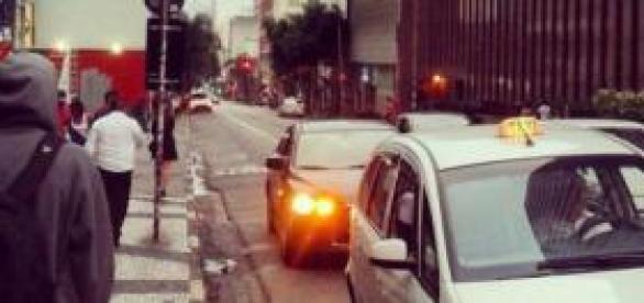 Rua Augusta: movimento 24 horas