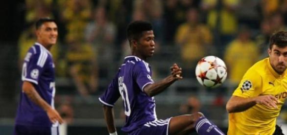 Anderlech Uefa y Dortmund primero de su grupo.