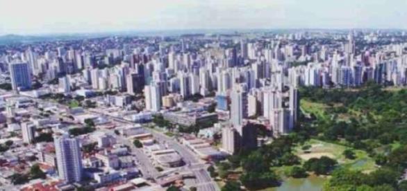 Cidade de Goiânia - GO, Brasil