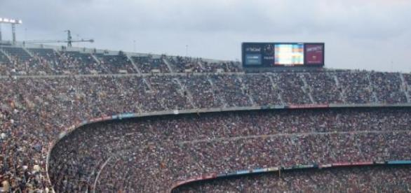 Camp Nou, imagen de archivo.