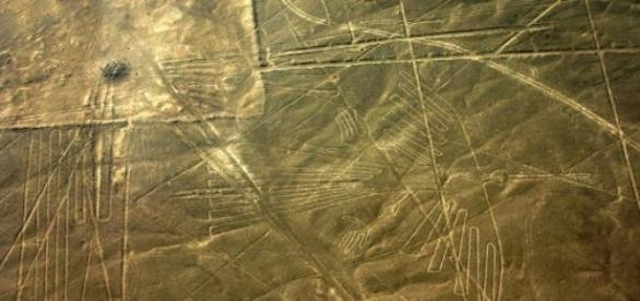 Um dos geóglifos das Linhas de Nazca.