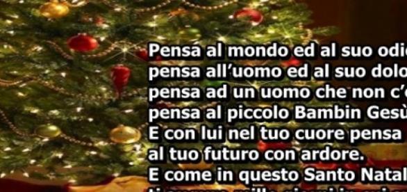 Preferenza Ecco 5 frasi di Natale originali, in rima, perfette per i vostri  ON74