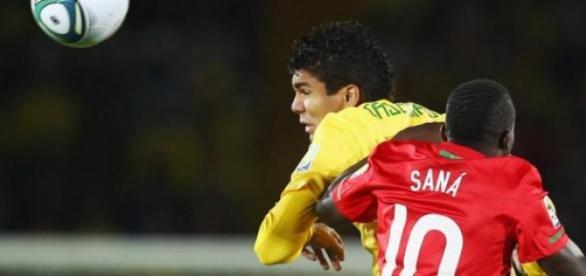 Saná na final do Mundial sub20 frente a Casemiro