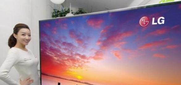 Televisor 8K de la marca LG