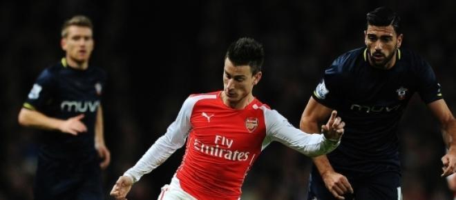 Partido entre Arsenal y Southampton