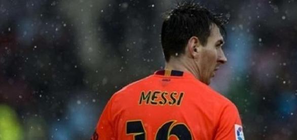 Leo Messi tuvo una muy mala actuación.