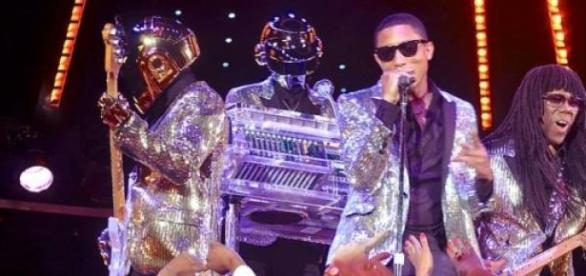 Pharrell Williams et les Daft Punk