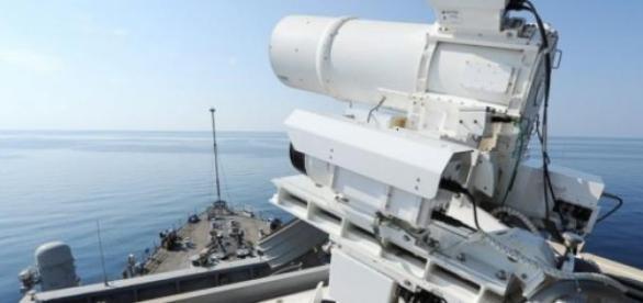 Armada EEUU: láser listo para la acción
