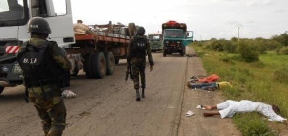 La BIR,armée camerounaise affronte  Boko Haram