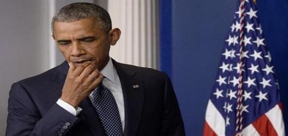 La amenaza islámica, sobre Barack Obama