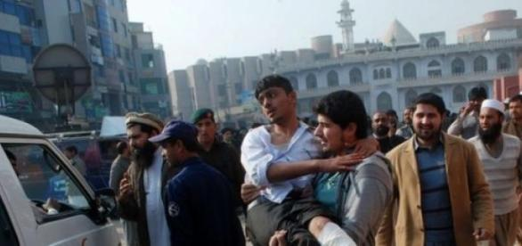 Terror talibán hoy en Pakistán.