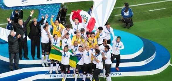 Corinthians de Tite foi Campeão Mundial, em 2012
