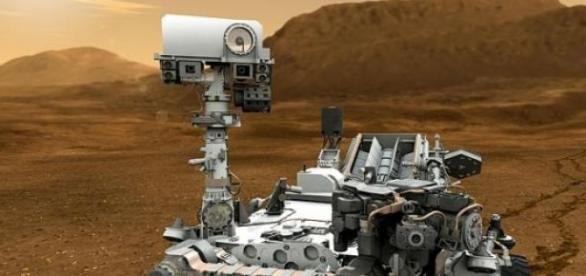 El robot 'Curiosity' explora Marte desde 2012