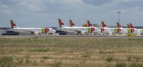 Greve na Transportadora Aérea Portuguesa.