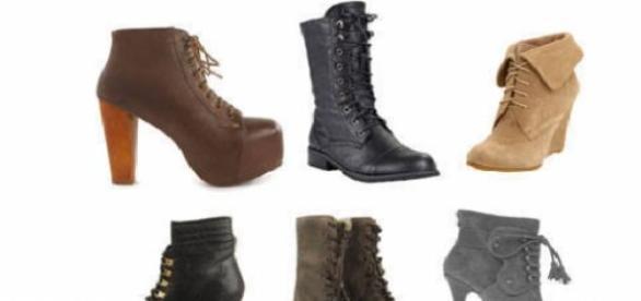 Que tipo de bota se lleva este invierno
