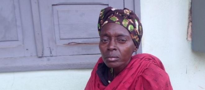 Fatima Aoua , réfugiée centrafricaine