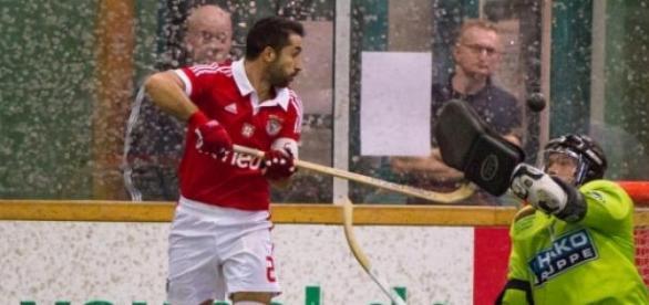 Benfica é líder isolado no campeonato de hóquei.