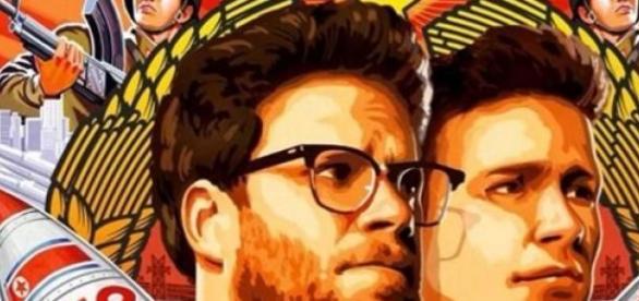 Interview Poster Seth Rogen James Franco