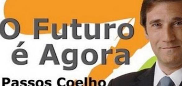 Passos Coelho em pré.campanha eleitoral