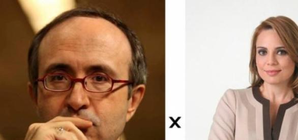 Reinaldo Azevedo versus Raquel Sheherazade