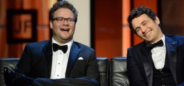 Seth Rogen e James Franco são as estrelas do filme
