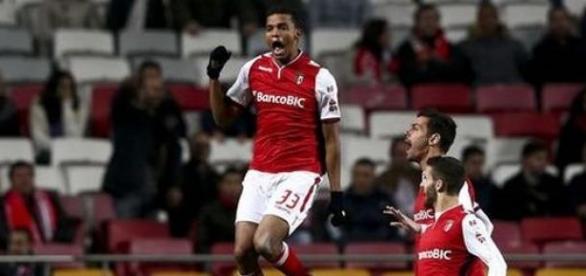 Aderlan Santos fez o primeiro golo do SC Braga