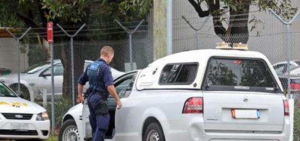 Carro da Policia Australiana