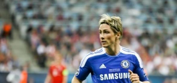 fernando torres en su etapa en Chelsea