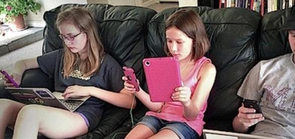 O uso de tablets entre crianças tende a aumentar