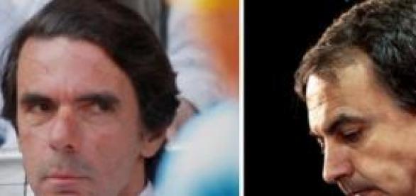 Aznar y Zapatero,la crisis española