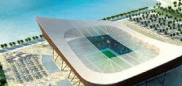Estádio localizado em Doha