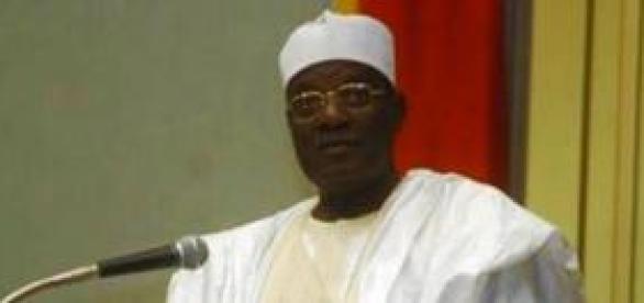Le président de l'Assemblée Cavayé Yéguié Djibril