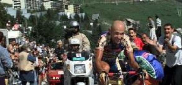Pantani, en sus días de gloria.