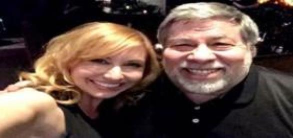 Steve Wozniak cofundador de Apple y Karl Byron