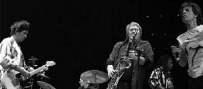 Muere el saxofonista de los Rolling Stones