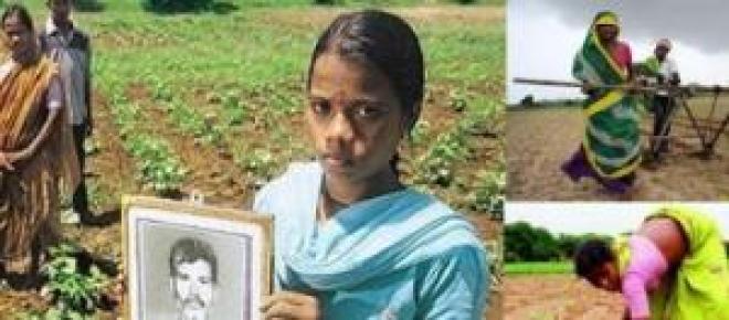 Situación de las familias agricultoras indias