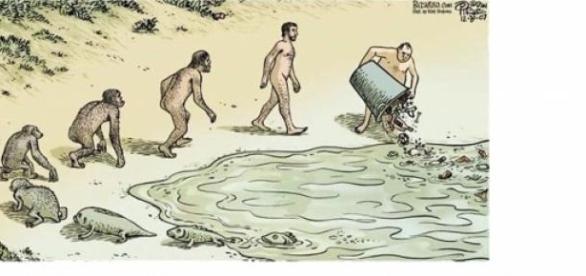 A grandiosa evolução do ser humano