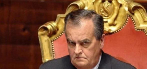 Calderoli molla Silvio Berlusconi