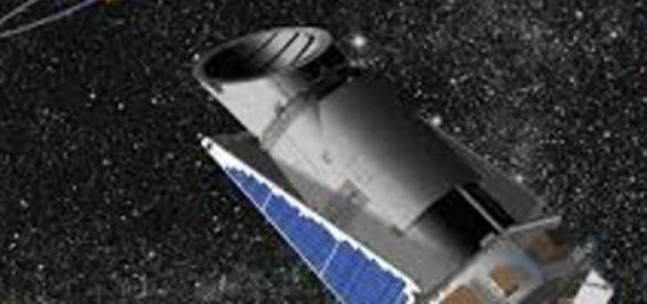 Imagem da nave espacial Kepler