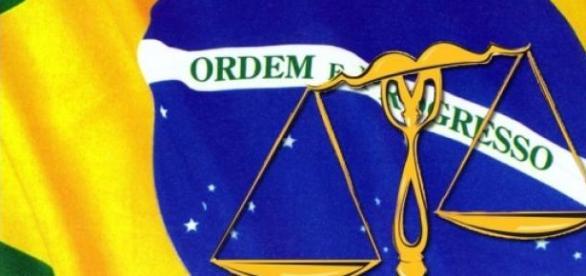 Justiça: ordem e  progresso, sem corrupção