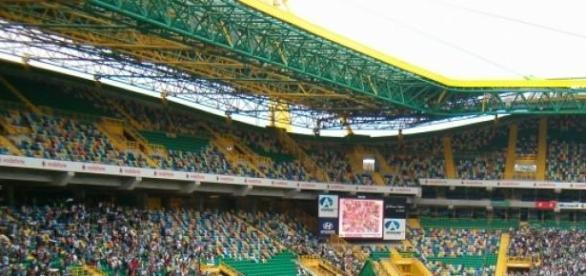 Estádio José Alvalade, em Lisboa.