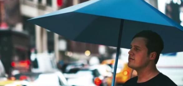 Justin Nagelberg, parasol origami