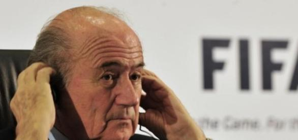 Presidente da Fifa Joseph Blatter