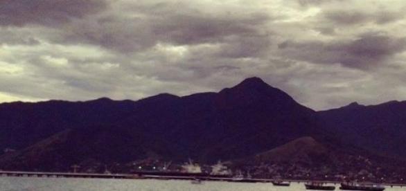 Vista do baepi, o segundo mais alto da ilha