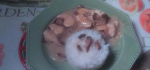 Filet de poulet au riz basmati