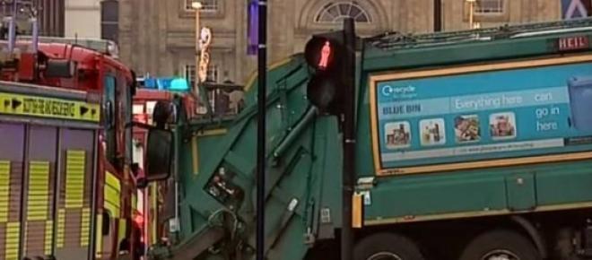 The Glasgow bin lorry crash