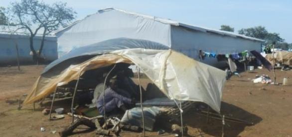 Refuge de mulsulmans pourchassés par des chrétiens
