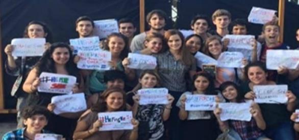 Fans argentinos despiden a Emma Watson