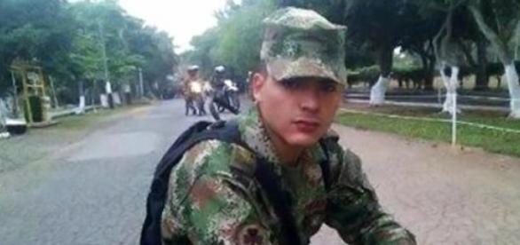 Soldado Profesional Carlos Becerra Ojeda